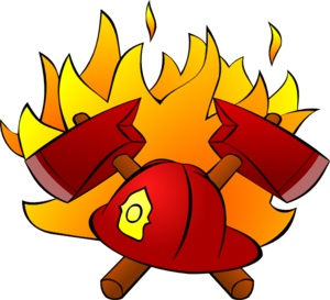 300x273 Fire Fighting Clipart