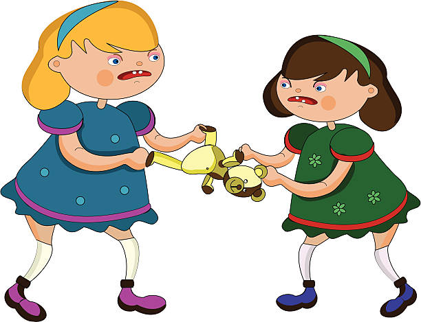 612x469 Clipart Kids Fighting