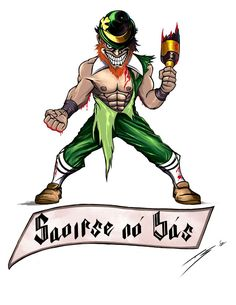 236x305 Notre Dame Fighting Irish Tattoos Irish Leprechaun Sketch Notre