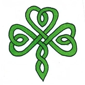 351x352 The Best Shamrock Clipart Ideas Happy St