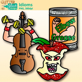 350x350 Clip Art {Figurative Language Use For Bad Apple, Smart Cookie