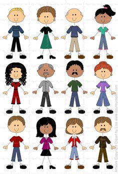 236x348 Stick Figure People Graphics And Clipart Samples 10 Commercial