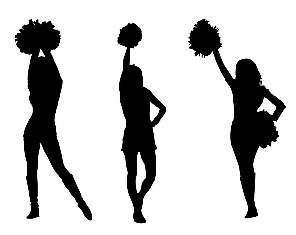 1000x794 Chic Idea Cheerleading Clipart Cheerleader Clip Art On Stick
