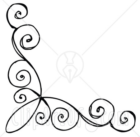 450x441 Swirl Designs Clip Art 2011 Google Terms