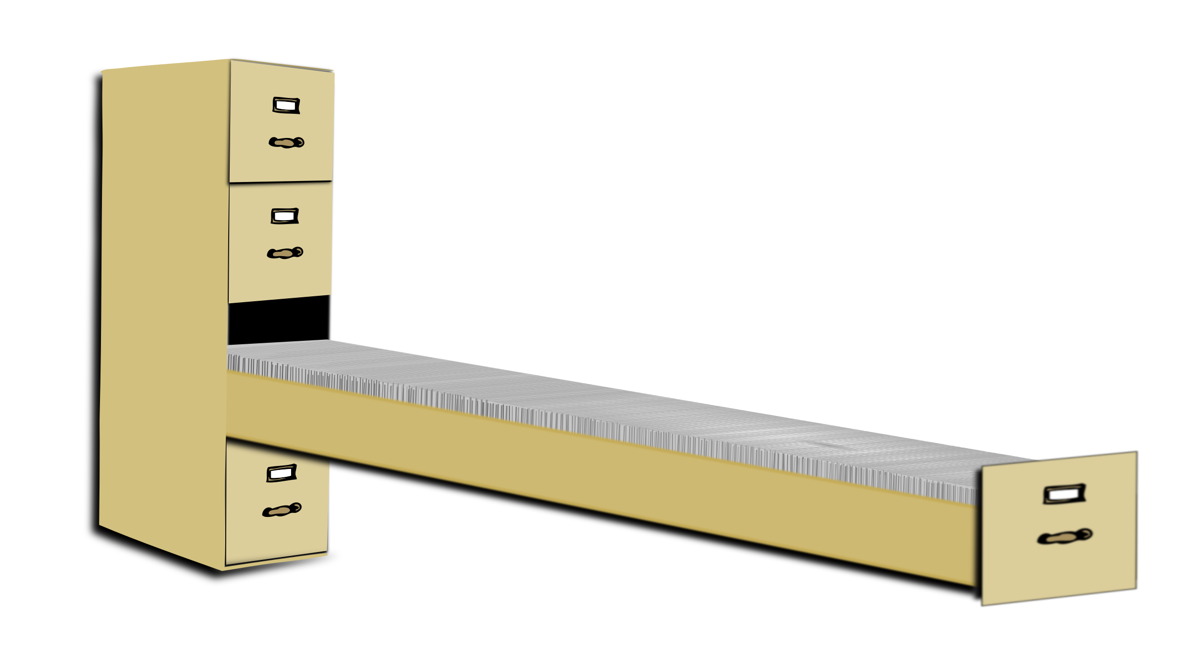 2400x1306 Clipart Of A Filing Cabinet