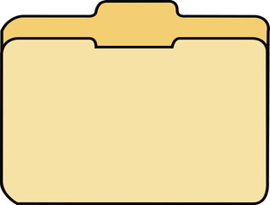 300x228 File Folder Clipart Image
