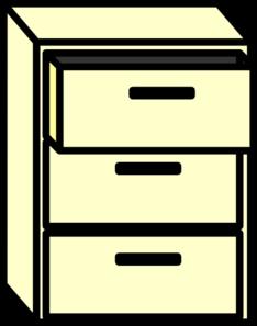 234x297 Filing Cabinet Clip Art