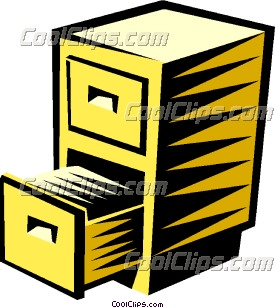275x308 Filing Cabinet Clipart