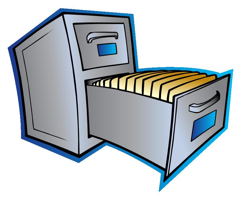 800x666 Free Filing Cabinet Clip Art