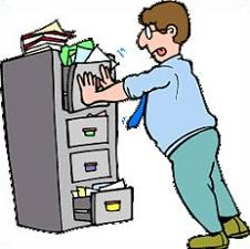 226x225 Free Filing Cabinet Clipart