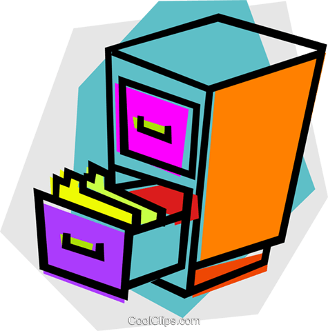 475x480 Gorgeous Free Filing Cabinet Filing Cabinet Royalty Free Vector