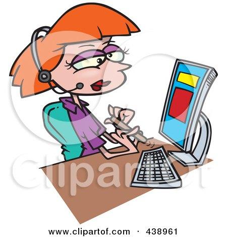 450x470 Royalty Free (Rf) Clip Art Illustration Of A Cartoon Woman