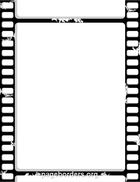 470x608 Film Strip Border Clip Art, Page Border, And Vector Graphics