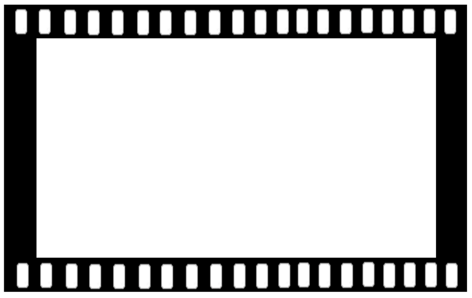 1520x960 Free Clipart Film Frame