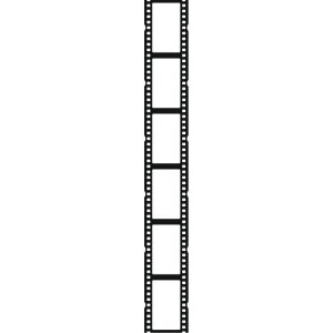 300x300 Movie Reel Movie Film Strip Clip Art Image 2