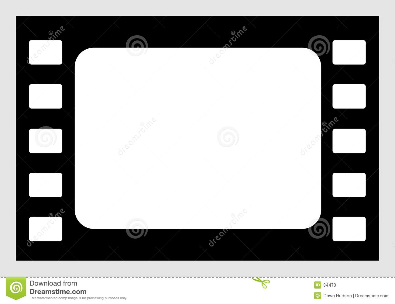 1300x1000 Film Reel Border Clipart