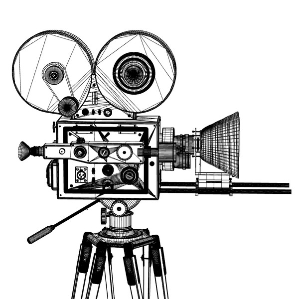 600x600 Old Film Cameras Clipart
