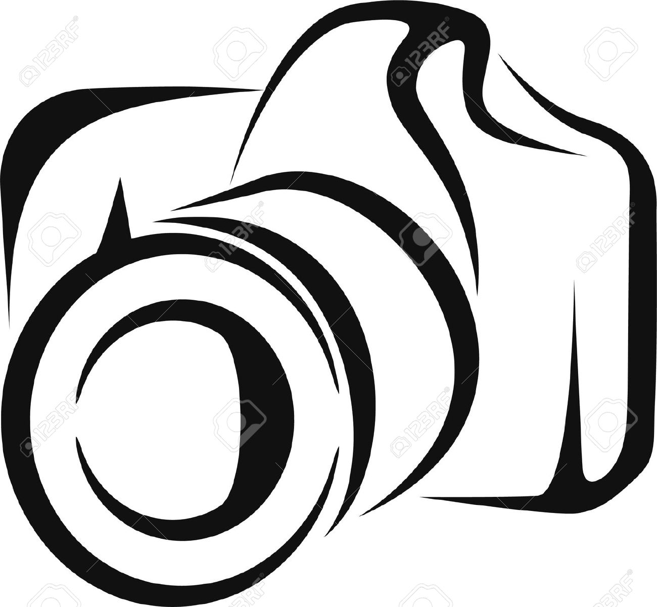 1300x1201 Camera Clipart Illustration