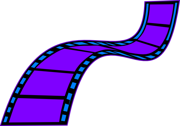 600x420 Film Strip Clip Art