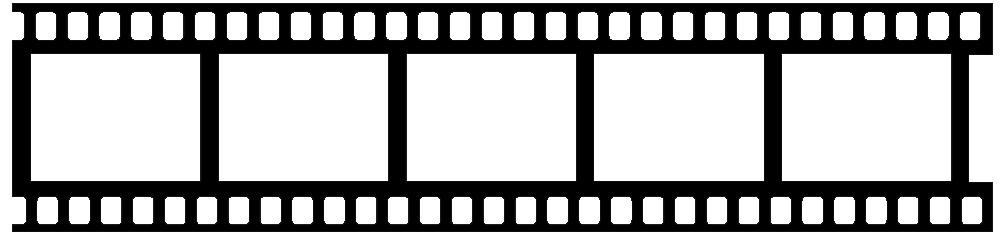 1000x233 Film Roll Clipart