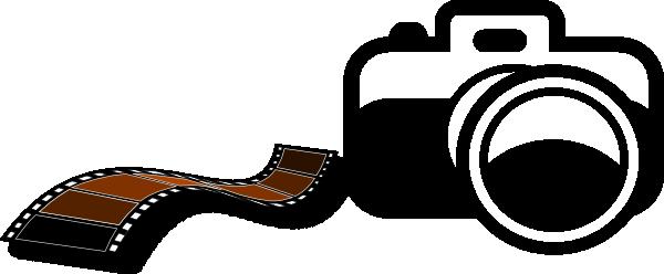 600x248 Camera And Film Strip Clip Art