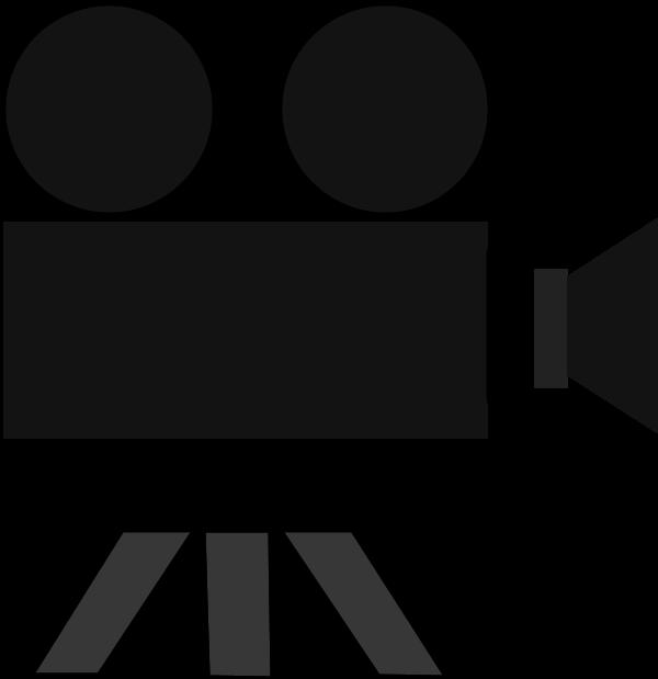 600x619 Clip Art Movie Camera And Film Clipart
