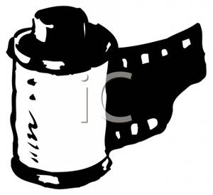 300x274 Film Roll Clipart