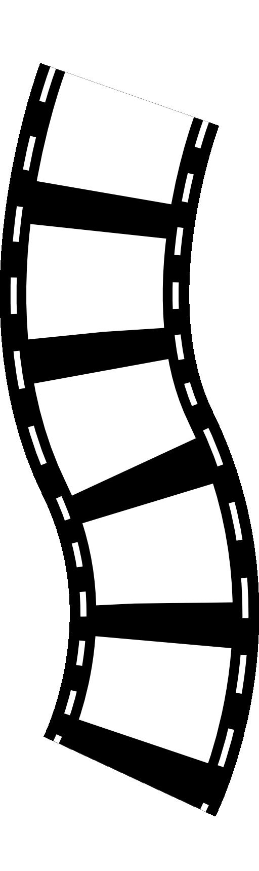 512x1720 Film Roll Clipart