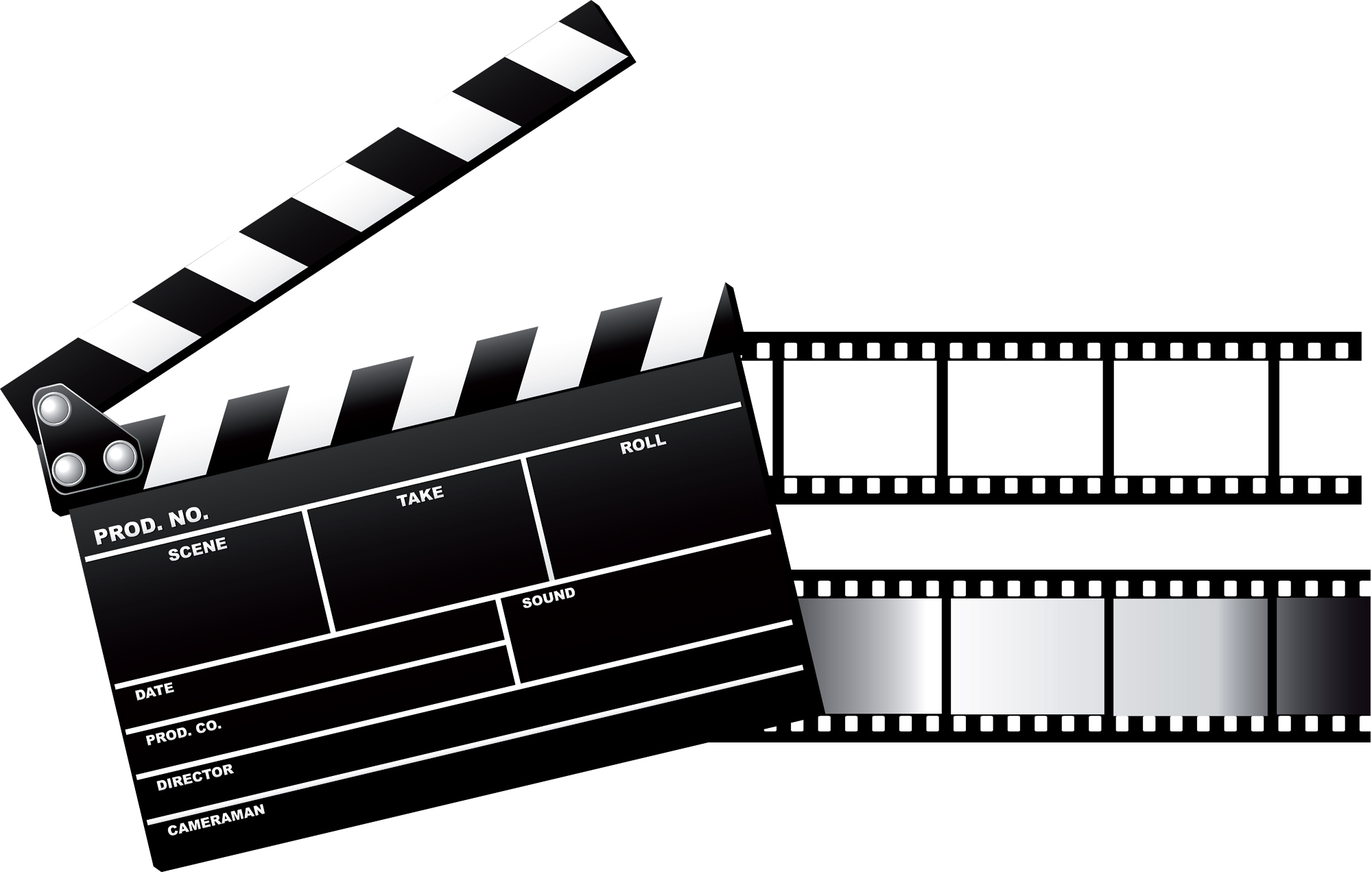 2000x1272 Film Strip And Canister Clipart