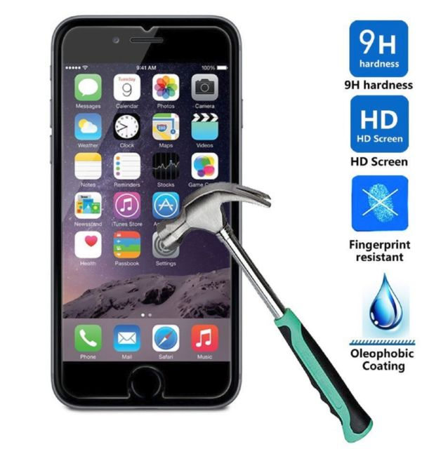 638x640 Premium Real Tempered Glass Film Screen Protector For Apple 5.5