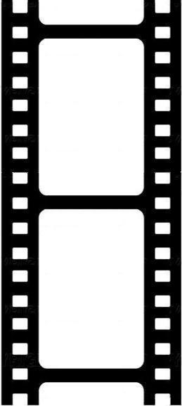 259x578 Movie Reel Clipart