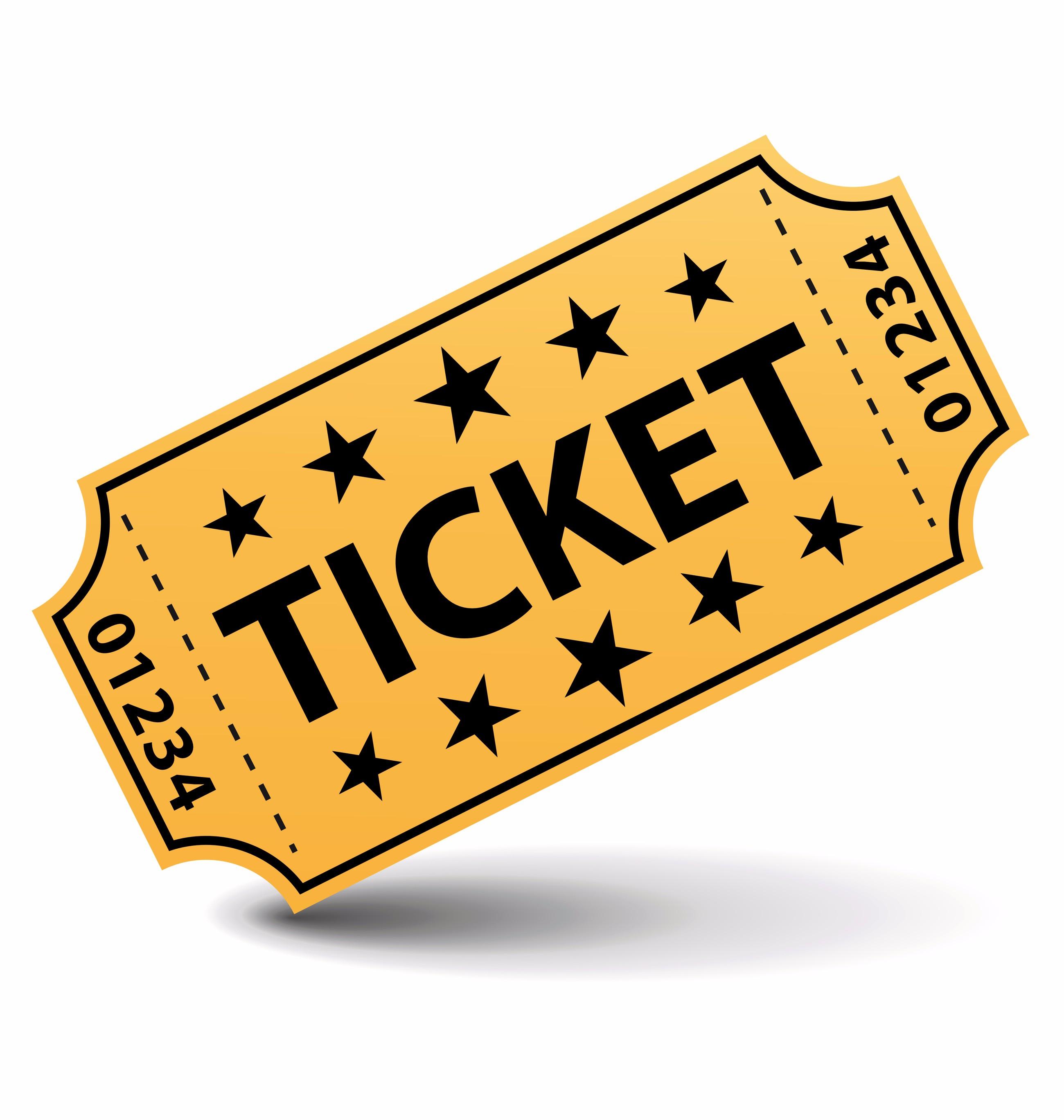 2600x2737 Ticket Clip Art
