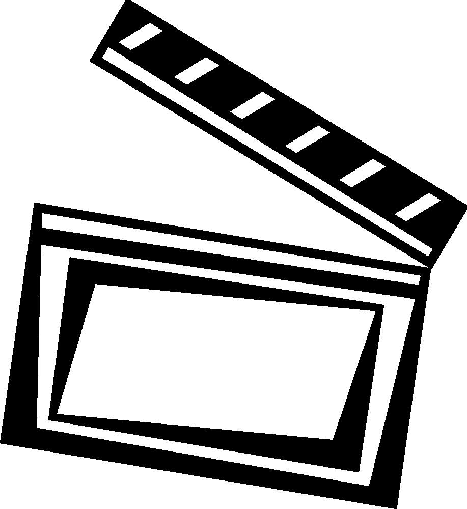 917x1000 Movie Camera Movie Reel Clip Art Hostted Clipartix