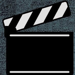 295x295 Film Reel Logo Vector