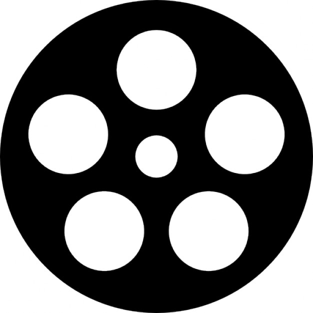 626x626 Film Reel Logo Vector Image Info
