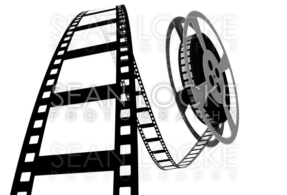 590x401 3d Movie Film Spooling Off Of Reel