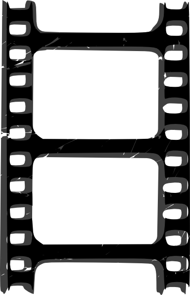 384x595 Film Strip Solo Clip Art