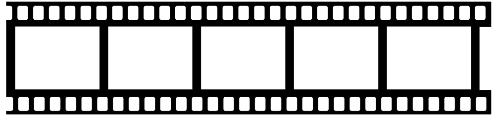 1000x233 Movie Film Clip Art Many Interesting Cliparts