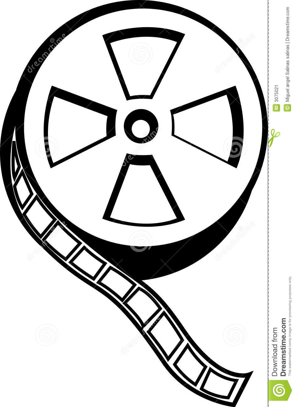 944x1300 Movie Clipart Roll Vector
