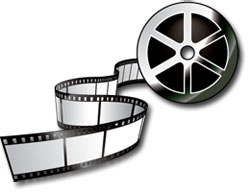 250x192 Movie Reel Gallery For Movie Clip Art Image