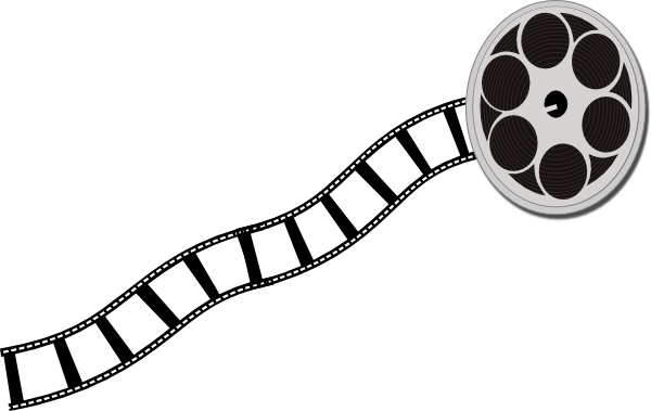600x379 Movie Reel Movie Film Strip Clip Art Image