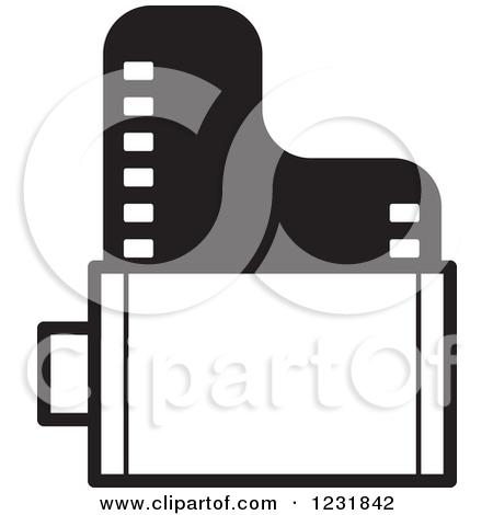 450x470 Film Rolls Clipart