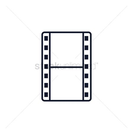 450x450 Free Film Reel Icon Stock Vectors Stockunlimited