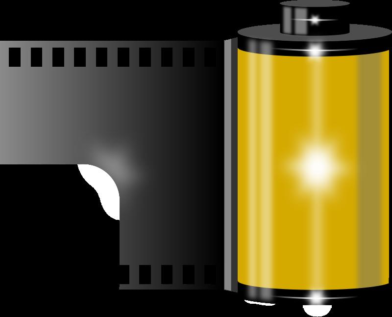 800x646 Free Film Roll Clip Art