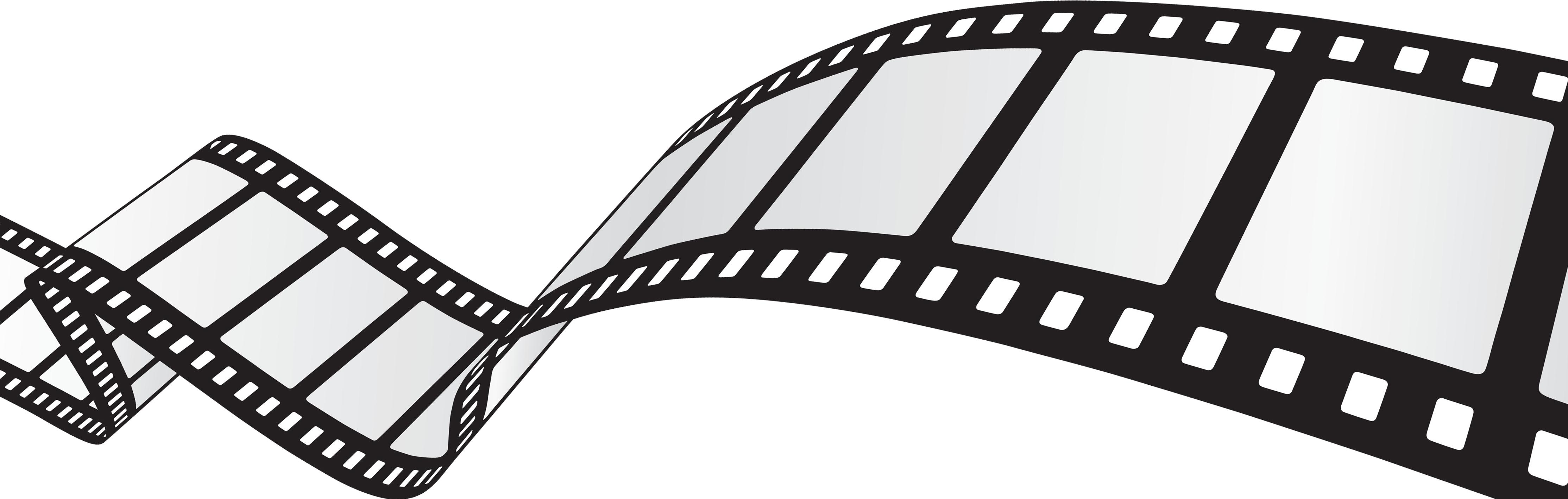 4455x1418 Clipart Film