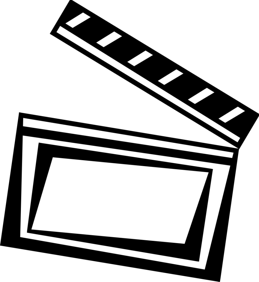 830x905 Film Clip Art