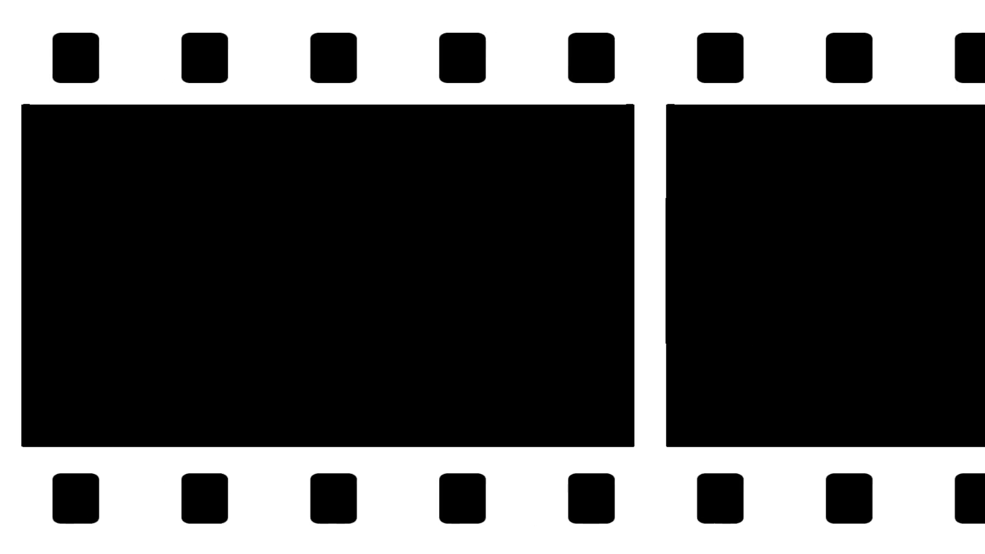 1920x1080 Moving Film Strip Animation Composite 1 Stock Video Footage
