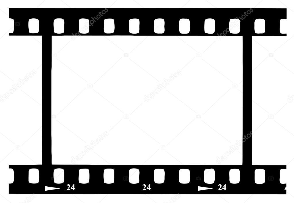 1023x707 Black 35 Mm Movie Film Strip Stock Photo Hittoon