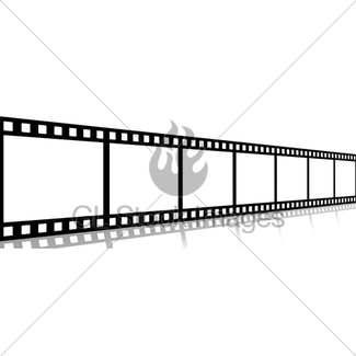 325x325 Black And White Film Strip Gl Stock Images