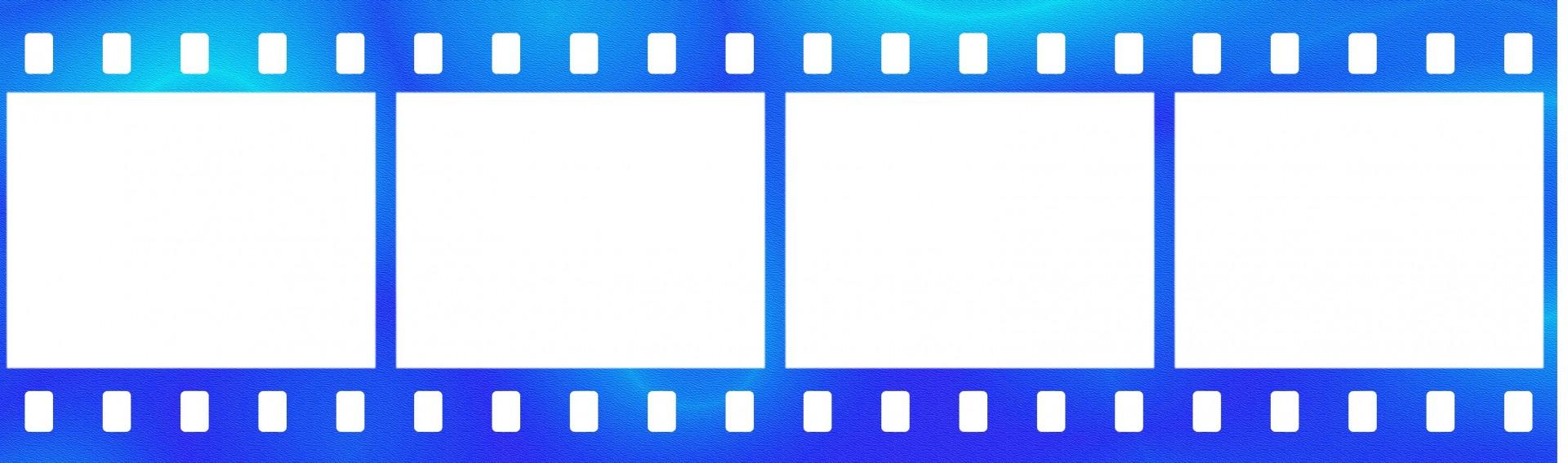 1920x567 Blue Film Strip